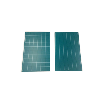 Greenboards With Lines And Square (written by Chalk): Set Of 2