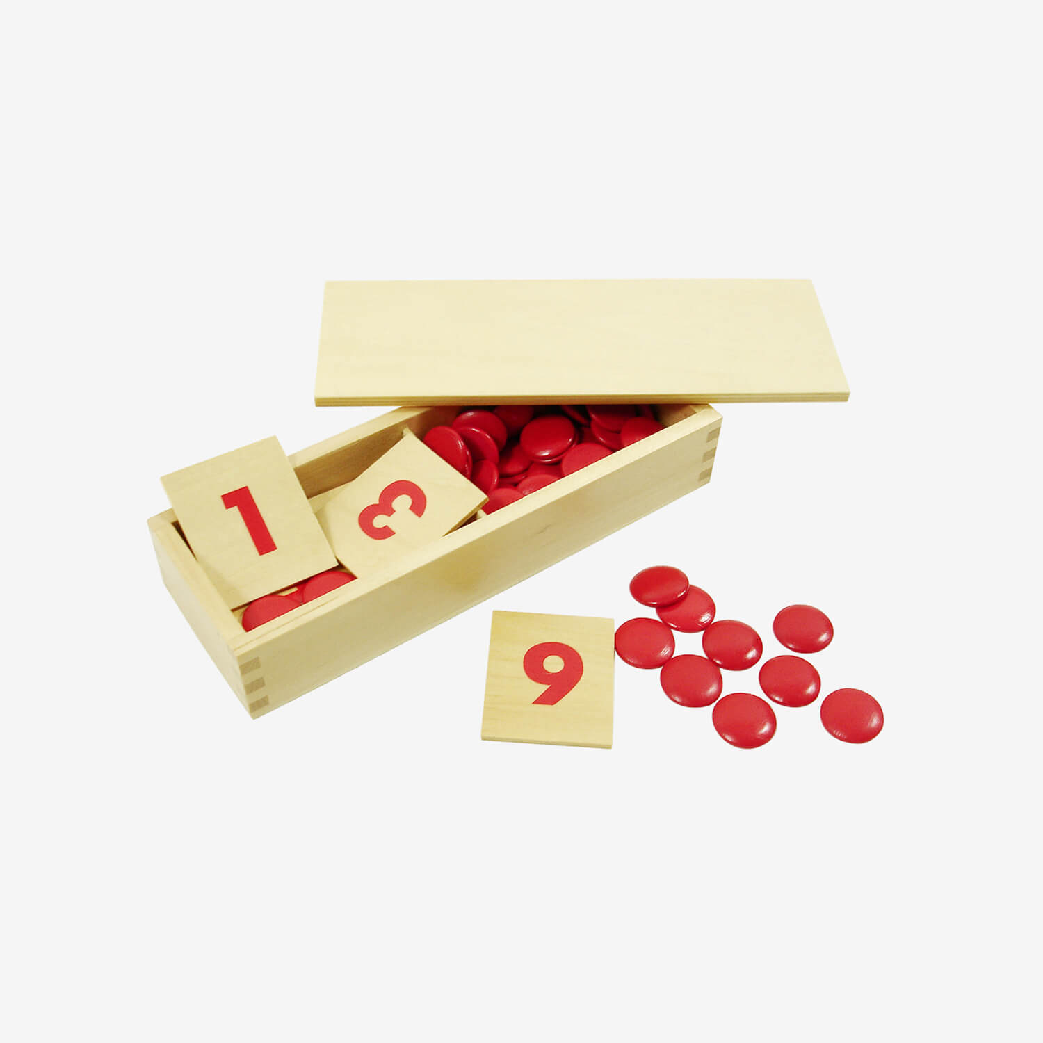 Number Cards And Counters