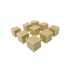 Wooden Cube Of 1000: Set Of 9